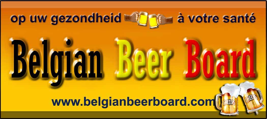 Belgian Beer Board